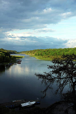 Photograph - Late Evening Key River by Debbie Oppermann