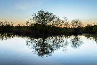 Photograph - Late Evening Reflections I by Marco Oliveira
