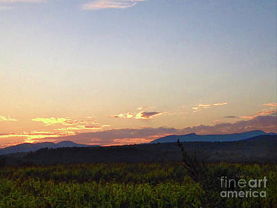 Photograph - Late Evening Sunset by Felipe Adan Lerma