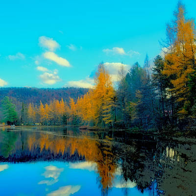 Photograph - Late Fall At Woodcraft Camp by David Patterson