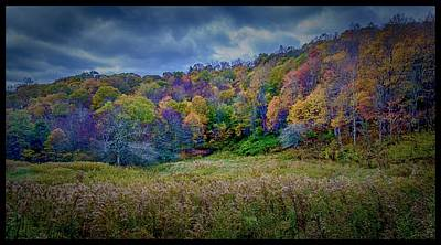 Photograph - Late Fall On Green Knob Trail by Dutch Ducharme