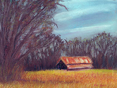 Painting - Late Fall On The Farm by Barry Jones