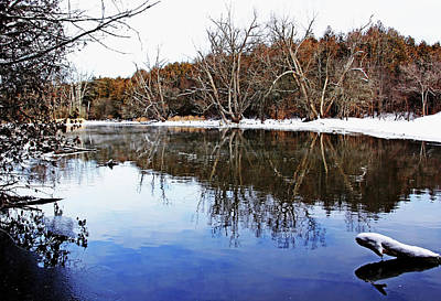 Photograph - Late Fall On The River by Debbie Oppermann