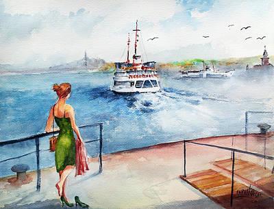 Painting - Late... by Faruk Koksal