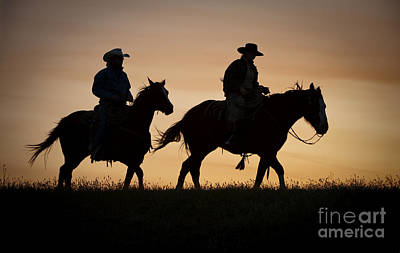 Out West Photograph - Late For Supper by Sandra Bronstein