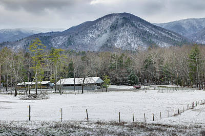 Photograph - Late January Winter by Mike Eingle