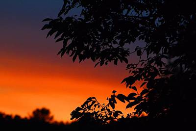 Photograph - Late July Sunset by Kathryn Meyer