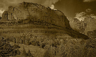 Photograph - Late Light At Brin's Mesa Tint Pano by Theo O'Connor