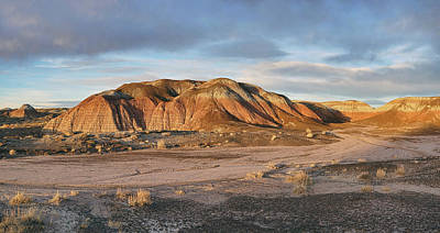 Photograph - Late Light At Painted Desert by Theo O'Connor