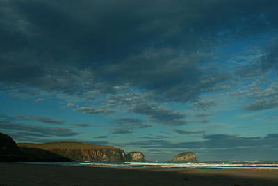 Photograph - Late Light Tautauku Beach by Terry Perham