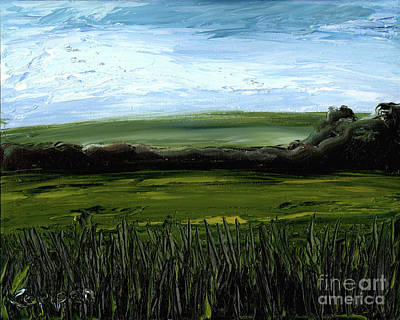 Painting - Late Light Vista by Robert Coppen