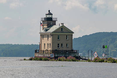 Photograph - Late Morning At Rondout Light by Jeff Severson