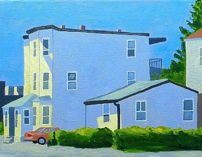 Boston Painting - Late Morning Revere by Laurie Breton