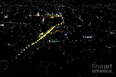 Print featuring the photograph Late Night In Cuenca, Ecuador by Al Bourassa