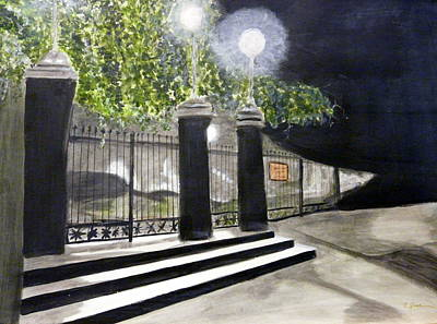 Painting - Late Night In New Orleans by Cathy Jourdan