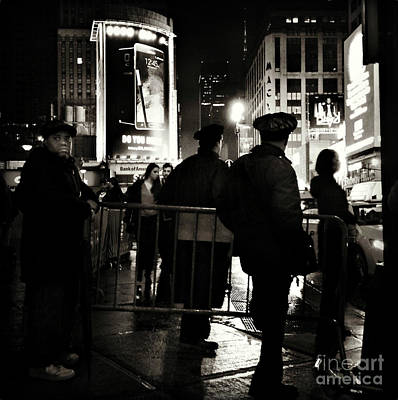 Photograph - Late Night In New York by Miriam Danar