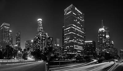 Photograph - Late Night La by Paul Riedinger
