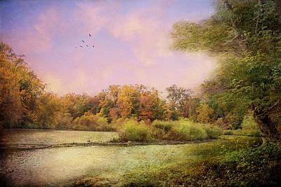 Photograph - Late October Morning by John Rivera
