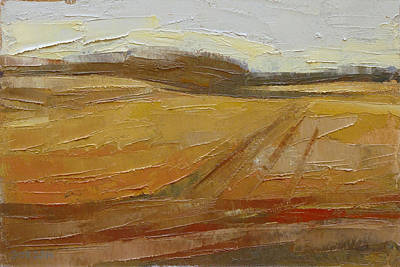 Painting - Late Season, Late Light by Kim Gordon