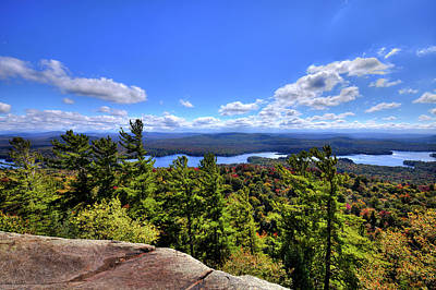 Photograph - Late September On Bald Mountain by David Patterson