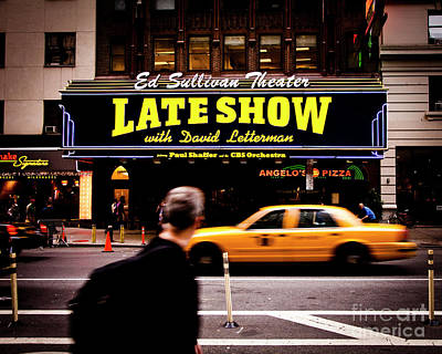 Photograph - Late Show by RicharD Murphy