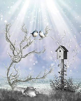 Late Snow Original by John Junek