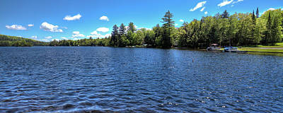 New York Photograph - Late Spring On 6th Lake by David Patterson