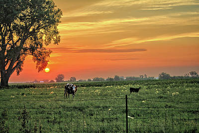 Photograph - Late Spring Sunrise by Bonfire Photography