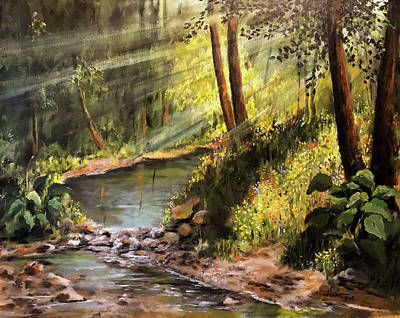 Painting - Late Summer by Alan Lakin