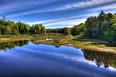 Photograph - Late Summer At The Green Bridge by David Patterson
