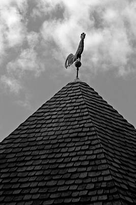 Weathervane Photograph - Late Summer In Williamsburg by Brian M Lumley