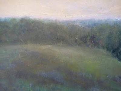 Painting - Late Summer Landscape by Joe Leahy