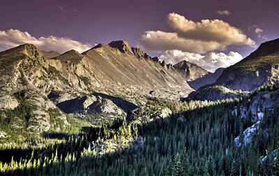 Photograph - Late Summer Mountain Vista by Kevin Munro
