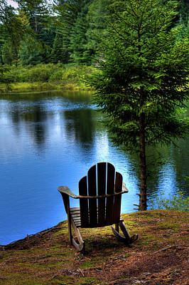 Photograph - Late Summer Shadows by David Patterson