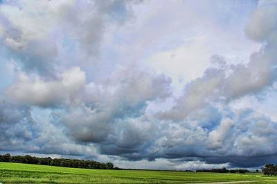 Photograph - Late Summer Storms by Jan Amiss Photography