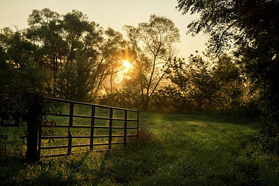 Photograph - Late Summer Sunrise by Andy Smetzer