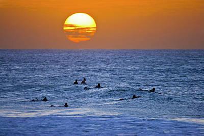 Late Surf Art Print