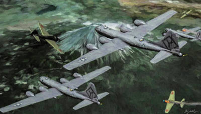 Popular Rustic Neutral Tones - Late war Mission - Oil by Tommy Anderson
