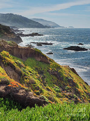 Photograph - Late Winter, Big Sur Coastline, California #30248-30251 by John Bald