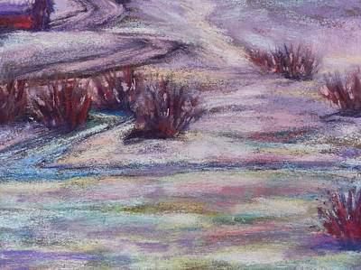Painting - Late Winter Light by Becky Chappell