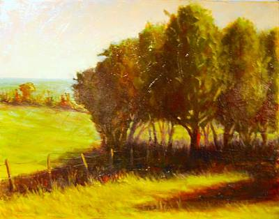 Painting - Later Summer Shade by Will Germino