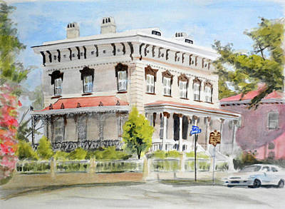 Upper Class Painting - Latimer House by Christopher Reid