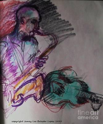 Latin Jam Art Print by Jamey Balester