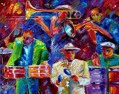 Painting - Latin Jazz by Debra Hurd