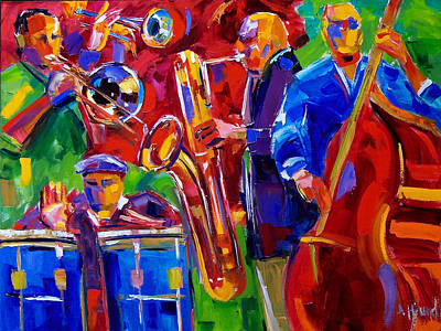 Latin Music Art Print by Debra Hurd