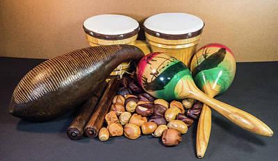 Photograph - Latin Music Instruments by Douglas Barnett