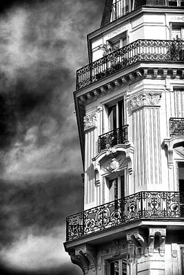 Photograph - Latin Quarter Balcony View by John Rizzuto