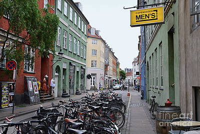 Photograph - Latin Quarter Of Copenhagen by Catherine Sherman