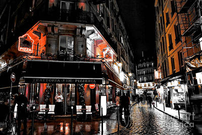 Photograph - Latin Quarter Pizza Fusion by John Rizzuto