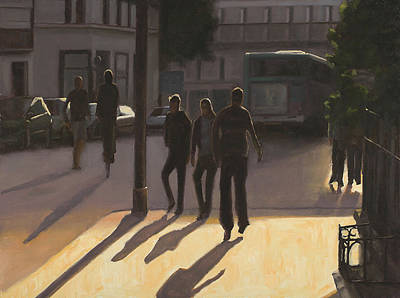 Painting - Latin Quarter by Tate Hamilton